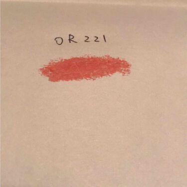 カラーフィット ルージュ/FASIO/口紅を使ったクチコミ(2枚目)