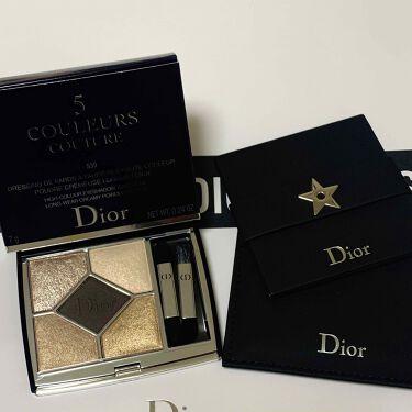 サンク クルール クチュール/Dior/パウダーアイシャドウを使ったクチコミ(1枚目)