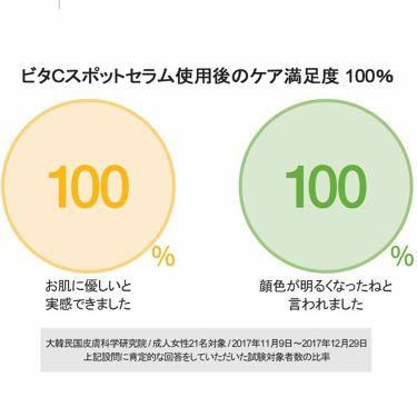 グーダル グリーンタンジェリンビタCダークスポットセラム/CLIO/美容液を使ったクチコミ(3枚目)