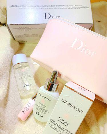 スノー エッセンス オブ ライト/Dior/美容液を使ったクチコミ(3枚目)
