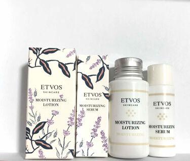 モイスチャライジングセラム/ETVOS/美容液を使ったクチコミ(1枚目)