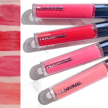 Soft Touch Lip Tint/NAMING./口紅を使ったクチコミ(3枚目)