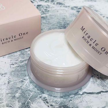 ミラクルワン リッチ&モイスト/RF28/オールインワン化粧品を使ったクチコミ(2枚目)