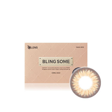 BLING SOME (ブリンサム) コーラルゴールド