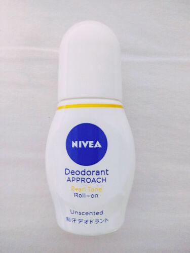 ニベア デオドラント アプローチ パールトーン ホワイトソープの香り/ニベアデオドラント/デオドラント・制汗剤を使ったクチコミ(2枚目)