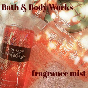 fragrance mist/BATH&BODY WORKS/香水(その他)を使ったクチコミ(1枚目)