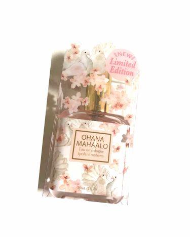 オハナ・マハロ オーデコロン<イポラニ マハナ>/OHANA MAHAALO/香水(レディース)を使ったクチコミ(1枚目)