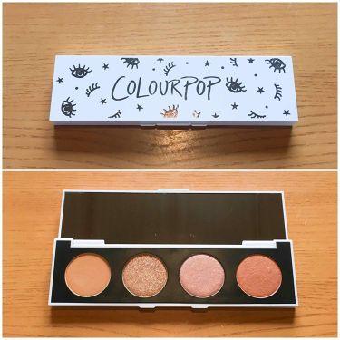 pressed powder eyeshadow  / ColourPop