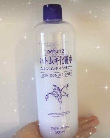 さや🍑💗さんの「ナチュリエスキンコンディショナー(ハトムギ化粧水)<化粧水>」を含むクチコミ