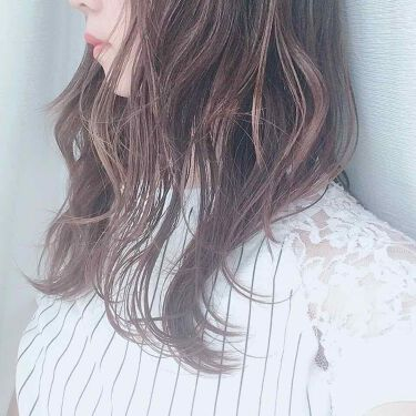 【画像付きクチコミ】✻SALONIA〈サロニア〉スタイリングオイル簡単に束感のある艶髪になれるヘアオイル❤️どれだけの効果があるか、半分にオイルをつけて巻き、もう半分は何もせず巻きました。オイル無しの方はパサついて指を通すと引っかかりそ...