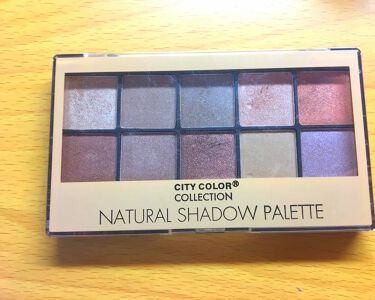 NATURAL SHADOW PALETTE/CITY COLOR/パウダーアイシャドウを使ったクチコミ(1枚目)