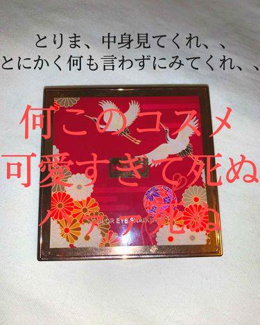 9COLOR EYE SHADOW BOX /HOJO/パウダーアイシャドウを使ったクチコミ(1枚目)