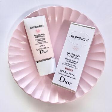 スノー UVシールド トーンアップ 50+/Dior/日焼け止め(顔用)を使ったクチコミ(1枚目)
