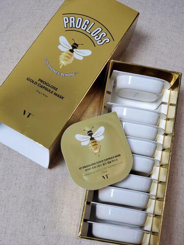 プログロスゴールドカプセルマスク VT Cosmetics