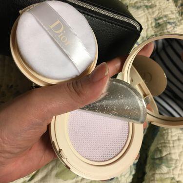 ディオールスキン フォーエヴァー クッション パウダー/Dior/ルースパウダーを使ったクチコミ(3枚目)