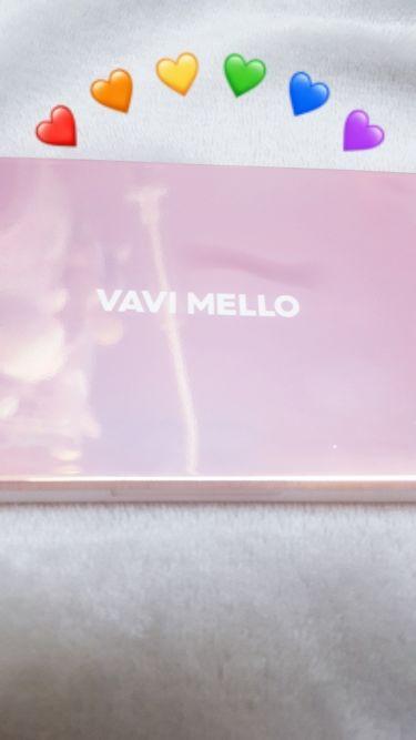 バレンタインボックス2ピーチパレット/VAVI MELLO/パウダーアイシャドウを使ったクチコミ(2枚目)