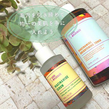 Niacinamide Brightening Toner /Good Molecules/化粧水を使ったクチコミ(1枚目)
