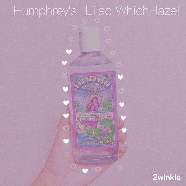 Lilac Witch Hazel Facial Toner, Alcohol Free/Humphreys/化粧水を使ったクチコミ(1枚目)