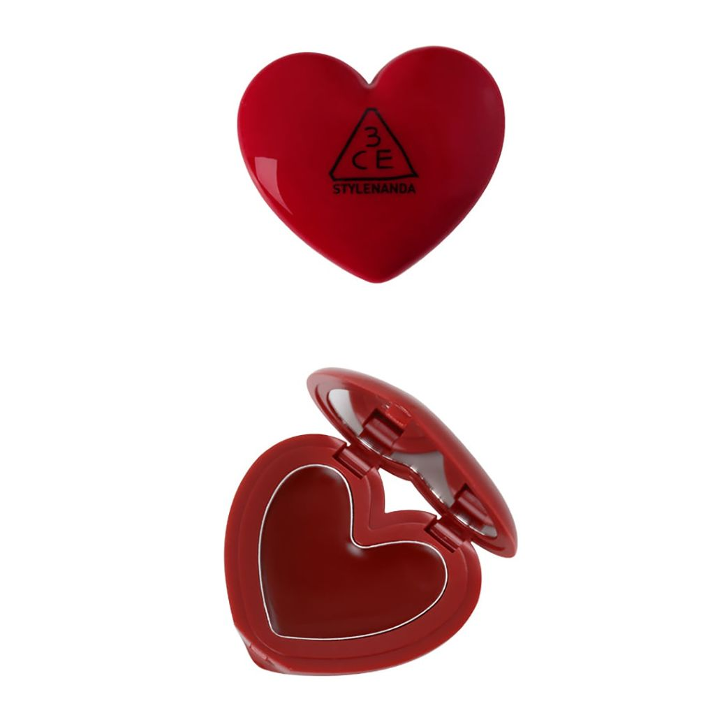 HEART POT LIP #BRICK RED