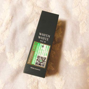 WHITH WHITE MEN 美容液 /美容液を使ったクチコミ(1枚目)