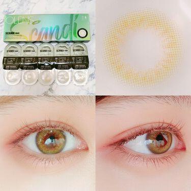 SCANDI 1day(スカンディワンデー)/POPLENS/カラーコンタクトレンズを使ったクチコミ(4枚目)