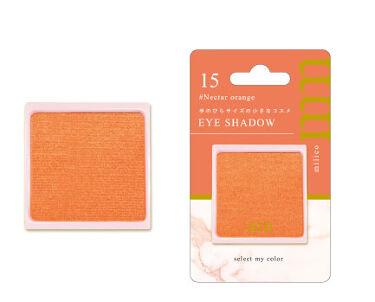 BWミリコアイシャドウ 15 ネクターオレンジ
