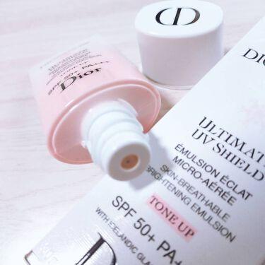 スノー UVシールド トーンアップ 50+/Dior/日焼け止め(顔用)を使ったクチコミ(3枚目)