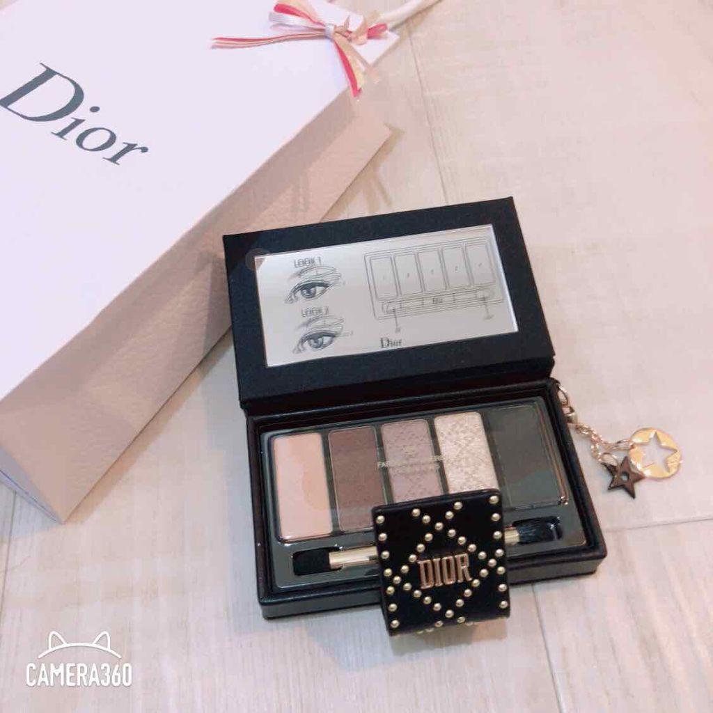 huge selection of 68137 622b2 ダズリング スタッズ アイ パレット|Diorの口コミ「⭐購入品 ...