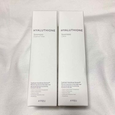 HYALUTHIONE Soonsoo Essence Toner/A'PIEU/化粧水を使ったクチコミ(2枚目)