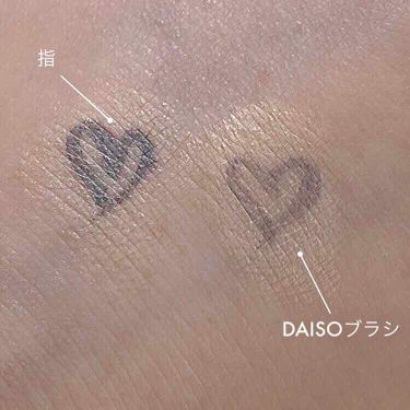UR GLAM コンシーラーブラシ/DAISO/マニキュアを使ったクチコミ(3枚目)