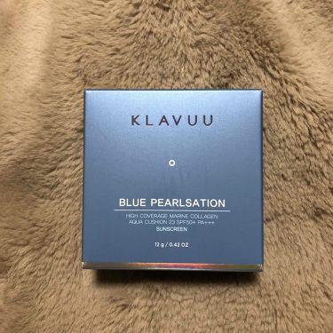 しろにゃんさんの「その他KLAVUU ブルーパールマリン コラーゲンアクアクッション<リキッドファンデーション>」を含むクチコミ