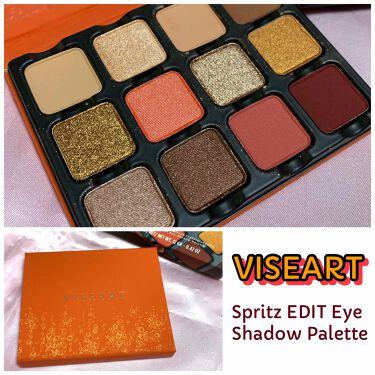 VISEART Spritz EDIT Eye Shadow Palette/VISEART/パウダーアイシャドウを使ったクチコミ(1枚目)