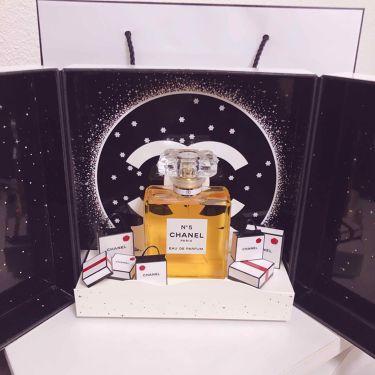 シャネル N°5 オードゥ パルファム シアター コフレ/CHANEL/香水(レディース)を使ったクチコミ(1枚目)