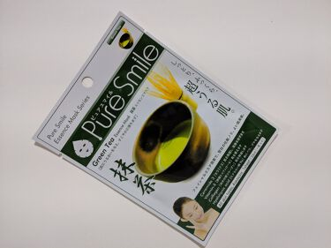 エッセンスマスク 抹茶/Pure Smile/シートマスク・パックを使ったクチコミ(2枚目)