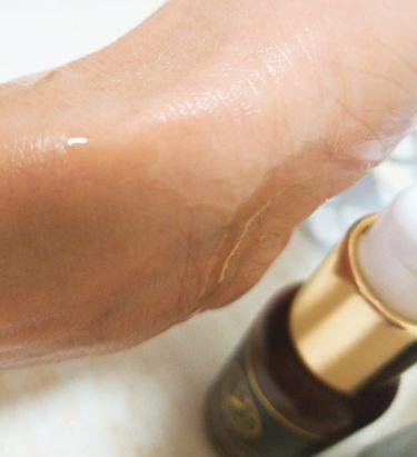 モロッコ100%オーガニック アルガンオイル/Natural Majesty/フェイスオイル・バームを使ったクチコミ(4枚目)