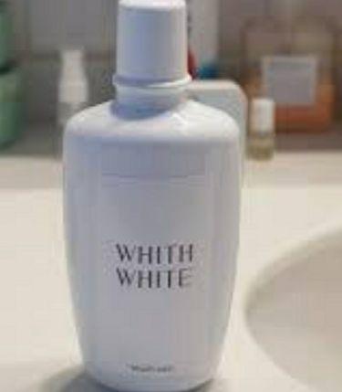ホワイトニング マウスウォッシュ /WHITH WHITE/マウスウォッシュ・スプレーを使ったクチコミ(1枚目)