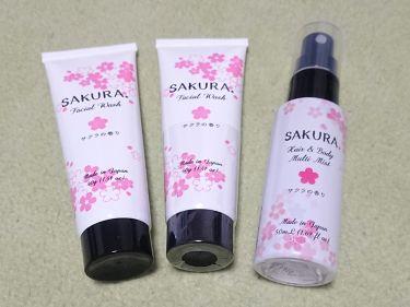 ボディミスト さくらの香り/フィアンセ/香水(レディース)を使ったクチコミ(2枚目)