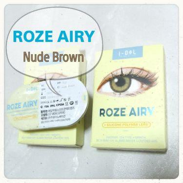 CANNA ROZE AIRY/i-DOL (アイドルレンズ)/カラーコンタクトレンズを使ったクチコミ(3枚目)