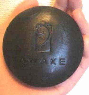 ミネラルブラック/アウェイク/洗顔石鹸を使ったクチコミ(1枚目)