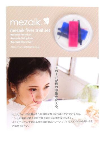 mezaik fiver trial set お試しセット メザイク