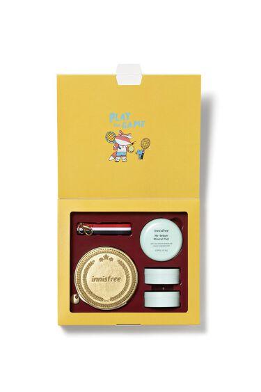 \📣キャンペーン実施中/  Let`s Cheer 2020 Limited Edition✨   お好みのノーセバムパウダーを3個購入すると  小物入れにぴったりの💫   イニスフリーゴールドメダル ポーチをプレゼント😘  アイテムはこちらから選んでね👯 🎈https://t.co/eLUUzjud1P  #イニスフリー https://t.co/owH7tXs4e5