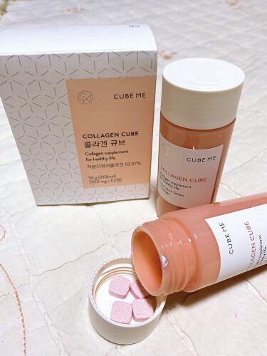 コラーゲン キューブ/cube me/美肌サプリメントを使ったクチコミ(2枚目)