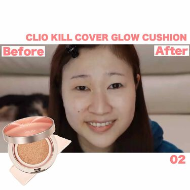 キル カバー グロウ クッション/CLIO/クッションファンデーションを使ったクチコミ(1枚目)