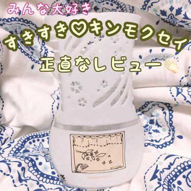 お部屋の消臭元 ホームデザイン キンモクセイの香り/小林製薬/その他を使ったクチコミ(1枚目)
