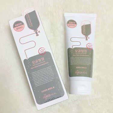 クレンジングフォーム 炭パウダー配合/MEDIHEAL/洗顔フォームを使ったクチコミ(1枚目)