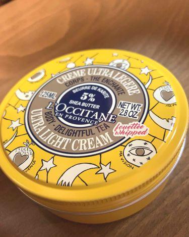 ジョイフルスター スノーシア ボディクリーム(ディライトフルティー)/L'OCCITANE/ボディクリーム・オイルを使ったクチコミ(2枚目)
