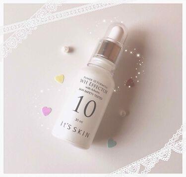 𝚌 𝚘 𝚌 𝚘  𖠚ᐝさんの「It's skinPower10フォーミュラ WHエフェクター<美容液>」を含むクチコミ