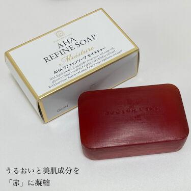 AHAリファインソープモイスチャー/ドクターライン/洗顔フォームを使ったクチコミ(2枚目)