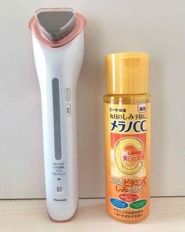 もりごろうさんの「Panasonic導入美容器 イオンエフェクター (クールモード付) EH-ST75-P<スキンケア美容家電>」を含むクチコミ
