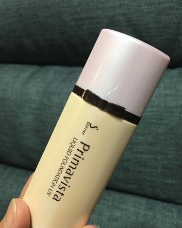 くずれにくい 化粧のり実感リキッドファンデーションUV/ソフィーナ プリマヴィスタ/リキッドファンデーションを使ったクチコミ(1枚目)